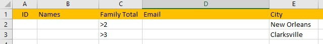 advanced filters excel
