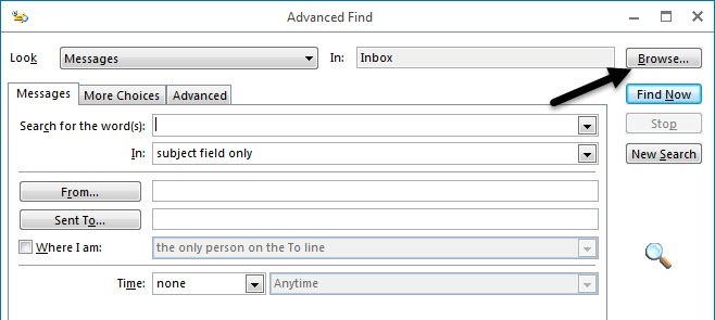 advanced find search in